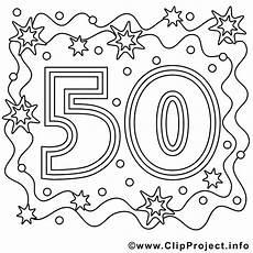 Ausmalbilder Geburtstag Kostenlos Ausdrucken Ausmalbild Zum 50 Geburtstag Ausmalbilder Lustige