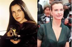 Carole Bouquet Bond - bond then and now