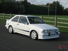 ford rs turbo 1985 ford rs turbo white series 1 only 69000