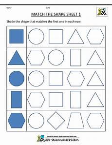 geometry worksheets shapes 886 free printable geometry worksheets match the shapes 1 φύλλα εργασίας για την προσχολική