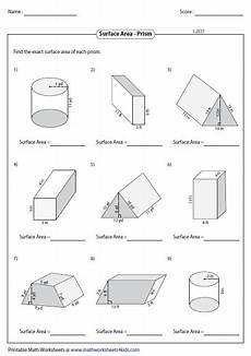 surface area and volume worksheet homeschooldressage com