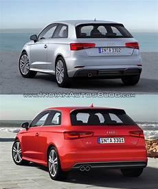 2016 Audi A3 Hatchback Facelift Vs New