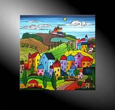 Atelier Mico City Fantasies No 45 Acryl Malerei
