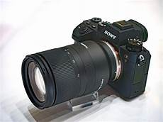 tamron 28 75mm f 2 8 di iii rxd lens at cp show 2018 sony camera rumors