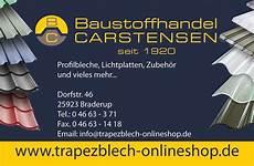 baustoffhandel carstensen profilbleche auf ma 223