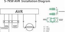 circuit diagram generator avr what is 5 7kw avr china generator avr alternator voltage regulator