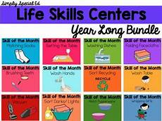 life skills centers year life skills bundle life skills activities for special needs