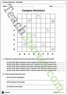 mapping grid reference worksheets 11589 compass directions worksheet teaching resource teaching maps math grid social studies worksheets