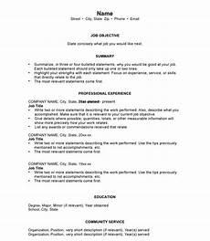best resume formatting transitioning veteran 2017 jena