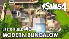 sims 4 häuser bauen die sims 4 haus bauen modern bungalow 3 let s build