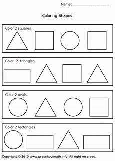 image detail for shapes worksheets for for preschool kindergarten first grade preschool
