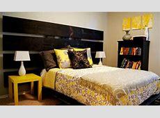 Yellow and Gray Bedroom   Modern   Bedroom   Oklahoma City