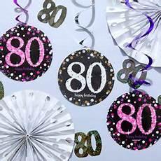 deko zum 80 geburtstag partycity de