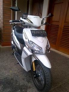 Modifikasi Vario 2008 by Di Jual Honda Vario Putih 2008 Simple Modification