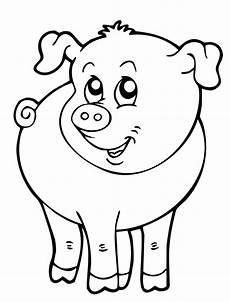 Lustige Schweine Ausmalbilder Ausmalbild Schwein Tiere Malvorlagen Tiere Ausmalbilder