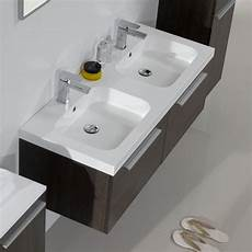 mobile bagno 2 lavabi arredobagno doppio lavabo sospeso desy 120cm