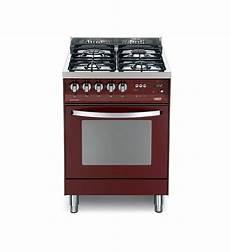 piano cottura forno cucina con forno elettrico e piano cottura rosso burgundy