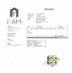 contoh invoice jasa buzzer kusunj com