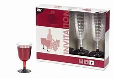 bicchieri per rosso bicchieri da rosso in plastica con piedino igiene