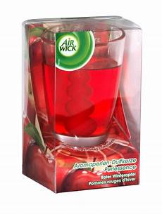 candele air wick air wick pearl infusion scented candle apple