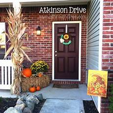 Outdoor Decorations by Outdoor Fall Decor Atkinson Drive