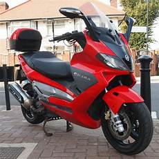 2004 Gilera Nexus 500 Scooter Fitted With Rack Topbox