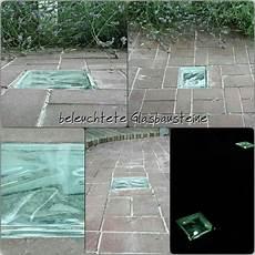 beleuchtete glasbausteine f 252 r den garten pinteres