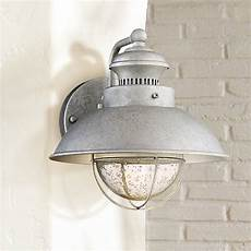 fordham 8 1 2 quot high galvanized led outdoor wall light 1n587 ls plus