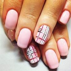 55 incredible plaid print nail design ideas for girls