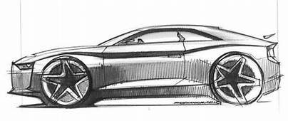 Audi Concept Car Sketch  Google Search Pinterest