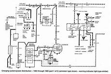 Wiring Diagram For 1989 Ford Ranger by Ford Ranger Wiring By Color 1983 1991 In 1989 Ford