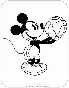 classic mickey mouse coloring pages disneyclips
