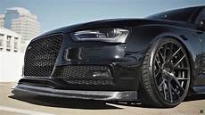 audi s4 with armytrix exhaust system and stance wheels damnedwerk