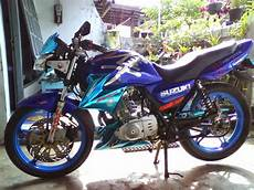 Modifikasi Thunder 125 by Aneka Modifikasi Kumpulan Modifikasi Motor Thunder 125