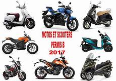 Motos Scooters Permis B 2017 Roadsters Sportives