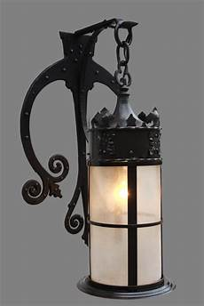 vintage iron gothic wall sconce