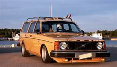 Slammed Volvo Wagon
