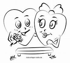 ausmalbilder valentinstag kinder amorphi