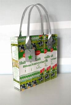 Upcycled Bag Made Of Tetra Upcycling Ideen Kreativ