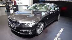 2017 Bmw 520d Sedan Luxury Line Exterior And Interior
