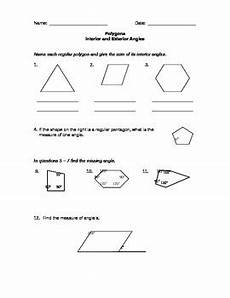 geometry worksheets for the middle school by antidormi tpt