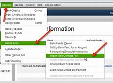 how to import account numbers in quickbooks