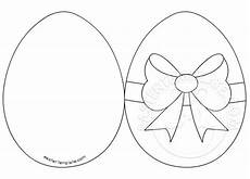easter egg card easter template