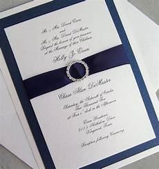 Navy Wedding Invitation Kits