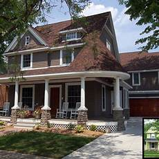 exterior paint colors for a brown roof search house remodeling pinterest home