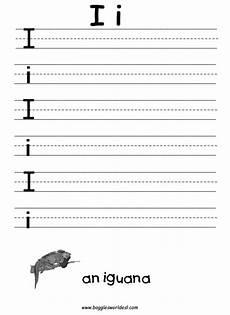 letter i handwriting worksheets for kindergarten 23501 9 best images of letter ii worksheets preschool worksheets letter i letter i writing