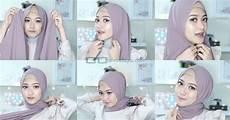 Tutorial Pashmina Untuk Kondangan Jilbab Gucci