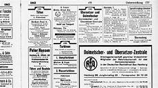 Gelbe Seiten Hamburg 1943 Gro 223 E Rfd Anzeige Und Kein