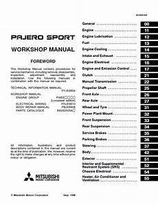 download car manuals pdf free 2001 mitsubishi challenger electronic toll collection mitsubishi challenger montero pajero sport workshop manual pdf