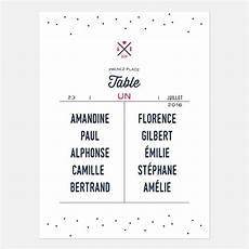 Plan De Table De Mariage Graphique Moderne Des Petits Pois